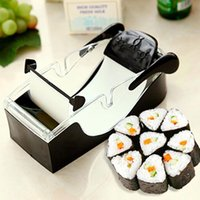 Wholesale Easy Sushi Maker - Magic Roll Easy Sushi Maker Cutter Roller DIY Kitchen Perfect Magic Onigiri Roll Tool Sushi Roller Rice Maker Mould Roller order<$18no track