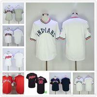 Wholesale Custom Blank Jerseys - Blank Cleveland Indians Jersey No name no number, (only blank jersey, not custom jersey)