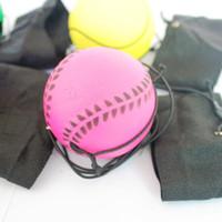 Wholesale Sponge Rubber Balls - Wholesale- Outdoor New Random Return Sponge Rubber Ball Elastic Sport On Nylon String Child Outdoor Activity Toy Kid Accessories Supplies