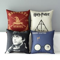 Wholesale Throw Backs - Anti-fading Soft Cotton Linen Throw Pillow Case Back Cover