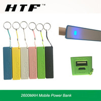 Wholesale Universal Cell Phone Battery Backup - For cell phones smartphones portable power bank 2600mah powerbank perfume section USB power banks backup battery charger iPhone HTC samsung