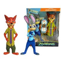 Wholesale Crazy Animals City zootopia Action Figures Toy Story Light Doll Nick Judy Cartoon Doll Music Lights Kids Action Fiures Best Birthday Gifts
