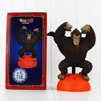 Wholesale Stand Action Toy - Super Mario Luigi donkey kong diddy kong Stand on the ball PVC Action Figure Colletable Model Toy 27cm