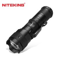 Wholesale Cree X - NITEKING N10 Cree XPE Q5 LED flashlight tactical torch light for 1 x CR123 battery,1 x 16340 or 1 x 14500