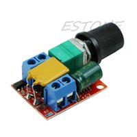 Wholesale speed controller switch resale online - J34 Mini DC Motor PWM Speed Controller V V Speed Control Switch LED Dimmer A