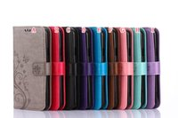 Wholesale Brand Cover Nexus - Flower Wallet Leather Pouch Case For LG Google Nexus 5X Sony Ericsson Xperia X Mini Doogee X6 X3 Strap Card Stand TPU Butterfly Cover Luxury