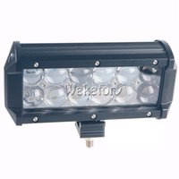 Wholesale Atv Light Switch - 7 inch 60W 4D LED Work Light Bar for Tractor Boat OffRoad 4WD 4x4 Truck SUV ATV Spot Flood Combo with Switch Wiring