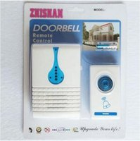 Wholesale Doorbell Rings - Modern Portable Wireless Doorbell with 32 Ring Tones Tune Cord Song Mini Door Room Office Gate Bell Doorbell Remote Control