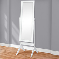 Wholesale floor mirrors - Best Choice Products Cheval Floor Mirror Bedroom Home Furniture- White