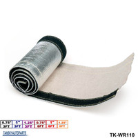 "Wholesale Heat Shield Cover - TANSKY -Aluminum Metallic Heat Shield Thermal Sleeve Insulated Wire Hose Cover(L:3FT & 6FT , ID: 0.75""& 1""& 1.25"") TK-WR110"
