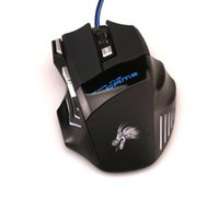 Wholesale Mouse Optical Gamer - Professional 5500 DPI Gaming Mouse 7 Buttons LED Optical USB Wired Mice for Pro Gamer Computer X3 Mouse