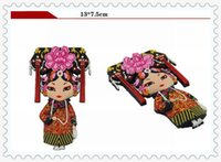 Wholesale Chinese Fridge Magnet - Free shipping Fridge Magnet Chinese Characteristics Style New Refrigerator Magnet Stickers Special Offer Promotion