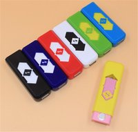 Wholesale Cheap Safes Wholesale Price - Rechargeable electric gift lighter Wholesale USB charged lighter wtih factory cheap price safe usb lighter on sale from dannywholesale