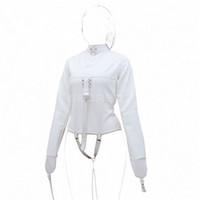 Wholesale Erotic Clothing - Leather straitjacket Teddy Bondage Erotic Clothing leather tights Teddy RPG slavery Keuschheitsgür SM