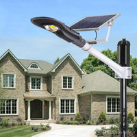 Wholesale Outdoor Lamps Home Lighting - Waterproof Outdoor Lighting 20w 30W LED Solar Street Light 1200 Lumen Solar Wall Night Lamp Garden Lampara for Suburban Home
