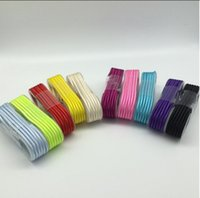 Wholesale Manufacturer Blackberry - Manufacturers selling aluminum alloy woven nylon cable within 1.5 meters with android MICRO metal aluminum shell charge Phone Cables