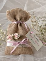 Wholesale Burlap Art - Burlap Bags with Drawstring Gift Bags for Wedding Party ,Arts & Crafts Projects, Presents, Snacks & Jewelry,Christmas(4.5*7.5inch)