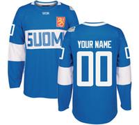 Wholesale green jersey koivu resale online - 2016 World Cup of Hockey Finland Team Jersey LEHTERA KOIVU LINDELL MAATTA BARKOV JOKIPAKKA TERAVAINEN Jerseys Any Name and Any Number