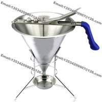 Wholesale types cooking tools for sale - Group buy Cream Dough Cake Batter Dispensers Mix Pastry Jug Baking Maker Cooking Funnel Tools