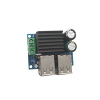 Wholesale Dc Step Down 5v - DC 9V 12V 18V 20V to 5V 30W 6A Step Down 4-USB Port Step-down Power Module