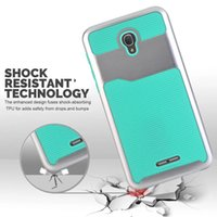 Wholesale Branded Pop Phone - Wave Hybrid TPU PC Hard Case For Alcatel One Touch Fierce 4 POP 4 PLUS 5056 Galaxy J3 2017 Emerge Silicone Armor Shockproof Phone Skin Cover