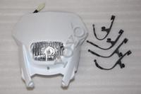 white NEW HEADLAMP GASGAS EC 515 FSR EC 300 Universal superbike StreetFighter headlights