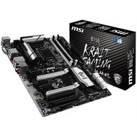 computadoras de la placa madre al por mayor-B150 KRAIT GAMING MSI placa madre directa al por mayor auténtica madre de seguridad motherboards MSI