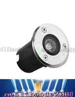 Wholesale Led Underground Lamp 1w - 1W 90LM 12V Waterproof Ip65 Warm White White Recessed Ground LED Deck Underground Light Lamp Free Shipping LLFA