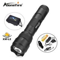 Wholesale Linterna Flashlight - 502B 1set Tactical Flashlight XM-L2 LED Torch Lamp Lantern linterna led Flashlight tatica light lantern+Rechargeable 18650 battery+car charg