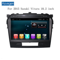 Dispositivo di navigazione per auto Asvegen per Suzuki Vitara 2015 10 pollici con supporto GPS a schermo tattico Car Audio Radio Video Player MP3 / MP4 Bluetooth