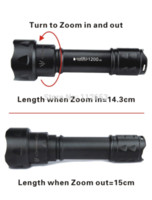 Wholesale 38mm Led Lights - UniqueFire UF-T20 IR 850NM T38 Infrared Light Night Vision Flashlight Torch 38mm Lens For hunting