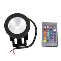 Neu 10W RGB LED Licht Pool Teich Scheinwerfer Unterwasser wasserdicht Lampe G2