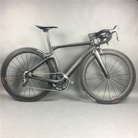 fahrräder großhandel-Komplette Carbon-Rennrad-Radfahren, T800 Carbono Fiber Frameset, R36 Carbon-Räder, SHiMANO 3500/4700/5800 / R8000 / 9100