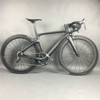 Wholesale Complete Road - Complete Carbon Fiber Road Bike Racing Cycling,T800 Carbono Fibre Frameset,R36 Carbon Wheels,SHiMANO 3500 4700 5800 R8000 9100
