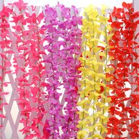200CM Belleza Artificial Flower Vine Rattan Hydrangea Bouquet Para la boda de la boda Garden Party Coffee Shop Decoración Código del producto: 1010-1000