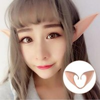 Misterioso Angel Elf Ears Cosplay Accessori Halloween Party Latex Soft Pointed Prosthetic Suggerimenti Le orecchie false G801