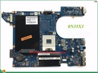 Wholesale laptop 15r - High Quality MB N35X3 N35X3 CN N35X3 For Dell Inspiron R Laptop Motherboard QCL00 LA P Integrated DDR3 Tested