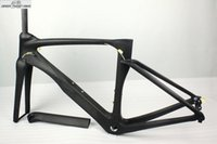 Wholesale Bicycle Frame Bmx - OP SELLING carbon road frame visa new model Light Toray T1000 Road Racing carbon frames 700C carbon fiber Road bicycle Frame race frame