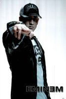 Eminem Posters Cantante Hot Art Silk Poster Prints 01