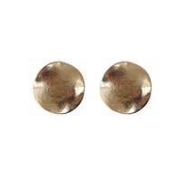 Wholesale Eco Friendly Shipping Materials - New Ladies Earrings 100% eco-friendly material convex surface round stud earrings, 1pair   lot large drop shipping