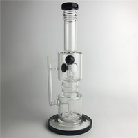 Wholesale kg inches for sale - New mm Glass Bongs Water Pipes with Inch KG Filter Rotary Cyclone Honeycomb Thick Pyrex Recycler Heady Beaker Bong