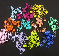 Wholesale Locking Stitch Markers Clips - HIGH quality Plastic Markers Holder Needle Clip Craft 2500pcs Mix Mini Knitting Crochet Locking Stitch Mix Colors YH050