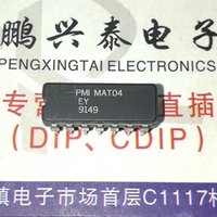 Wholesale transistor line - MAT04EY . MAT04FY , MAT04   Matched Monolithic Quad Transistor Integrated circuits ICs   dual in-line 14 pins Ceramic package . CDIP14