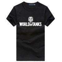 All'ingrosso 2017 estate stile divertente World Of Tanks T Shirt uomo fabbricazione World War ii Tank T-SHIRT homme Plus size hop hop fitness Top Tee