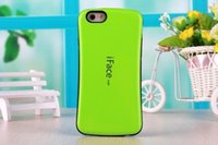Wholesale Iface Iphone5 - iface Case For cellphone iPhone5 5s 6 6s 6s plus Slim Silicone Anti-Shock shockproof TPU iFace Hard Pacstic Cases