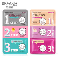 Wholesale Sheets Pig Skin - BIOAQUA Pig Nose Mask Remove Blackhead Acne Skin Clear Black Head 3 Step Kit Beauty Clean Face Care Cosmetic Beauty Tool
