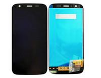 parça numarası ücretsiz toptan satış-Motorola Moto G XT1032 XT1033 için dokunmatik ekran digitizer ile lcd ekran, takip numarası ile ücretsiz kargo!