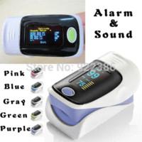 Wholesale Oxygen Saturation Monitor Alarm - +Alarm! health care OLED display Fingertip Pulse Oximeter, Blood Oxygen SpO2 saturation oximetro monitor Blood Pressure