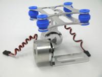 Wholesale Shock Camera - Shock-absorbing DJI Phantom Gopro 2 3 CNC Metal Brushless Camera Gimbal Frame camera digital nikon s6