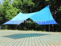 Wholesale Large Sun Shades Outdoor - Wholesale-Large Outdoor Simple Family Picnic Camping Sun Shelter Beach Event Canopy Summer Event Awning Garden Sun-Shading